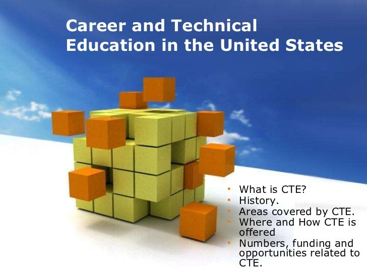 Career and technical education cte free powerpoint templates toneelgroepblik Image collections