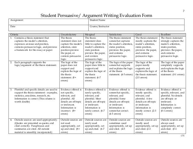 free writing assessment
