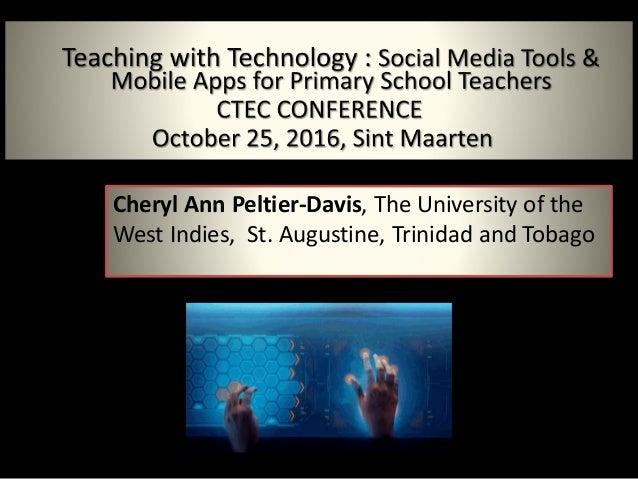 Cheryl Ann Peltier-Davis, The University of the West Indies, St. Augustine, Trinidad and Tobago