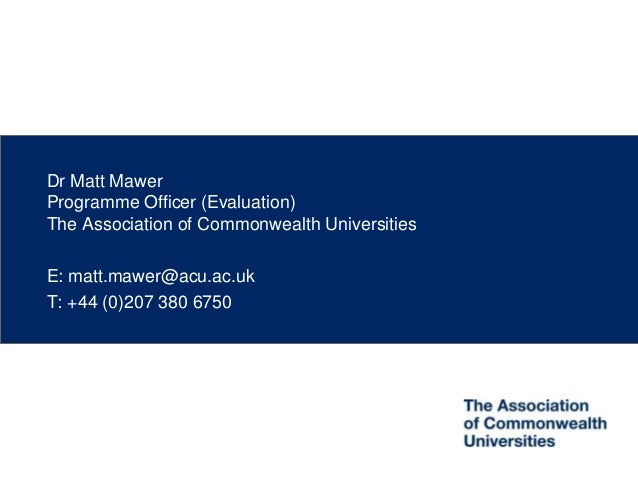 Doctoral education in Commonwealth Africa (CTEF, Kuala Lumpur)