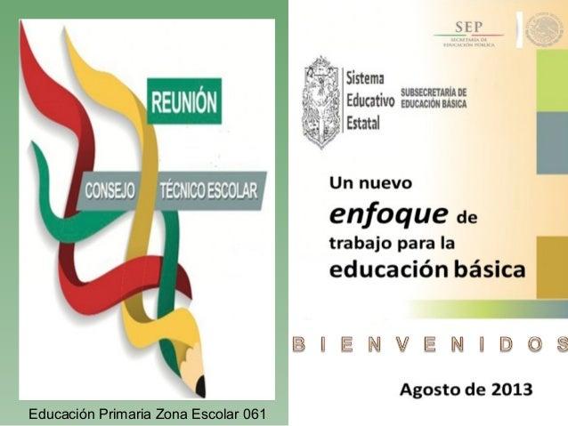 Educación Primaria Zona Escolar 061
