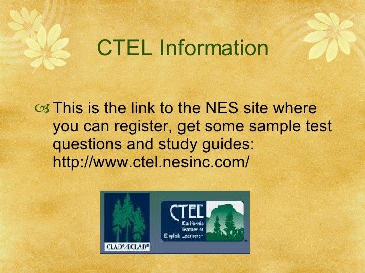 CTEL Exam Study Guide - 3 CTEL Practice Test Tactics To ...