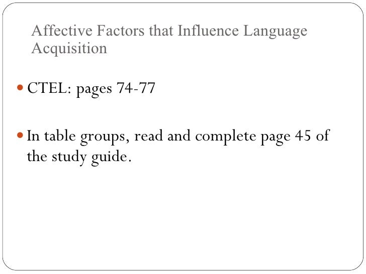 California Teacher of English Learners (CTEL) :: Pearson VUE