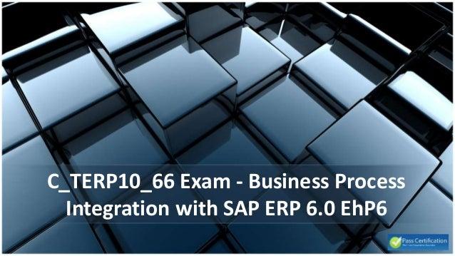 Business Process Integration with SAP ERP