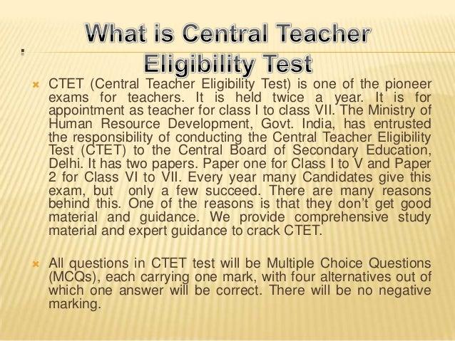 CTET Coaching in Delhi Slide 3
