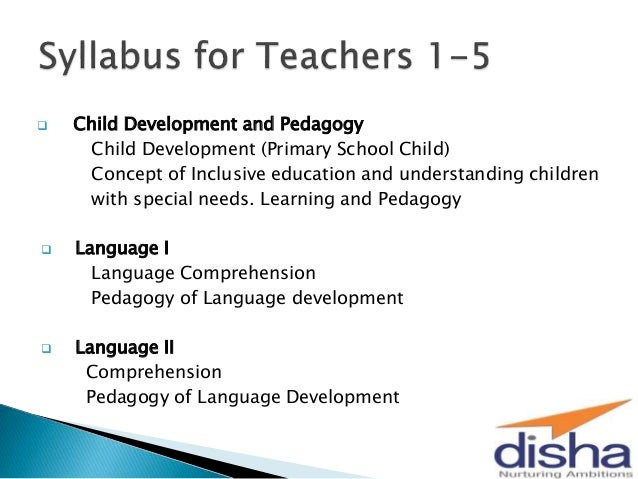 On and pedagogy child development book
