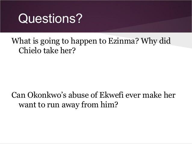 okonkwo and ekwefi relationship cha dance