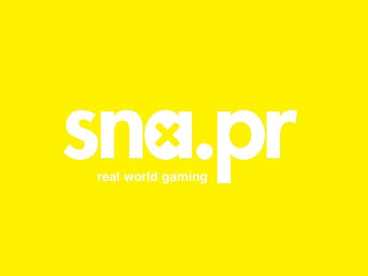 real world gaming