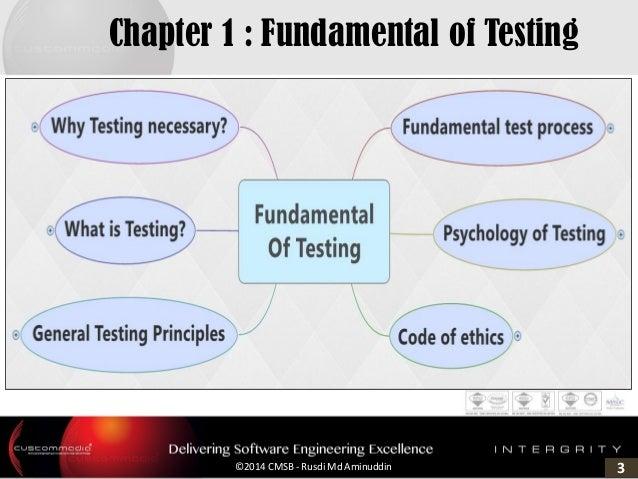 3©2014 CMSB - Rusdi Md Aminuddin Chapter 1 : Fundamental of Testing