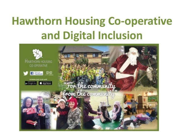 Hawthorn Housing Co-operative and Digital Inclusion
