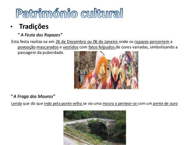 De entre as várias freguesias abrangidas pelo Parque de Montesinho, destacam-se:• capela de S. Sebastião (localização- Rua...