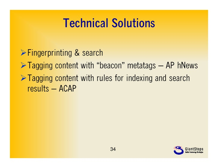 """Technical SolutionsFingerprinting & searchTagging content with """"beacon"""" metatags – AP hNewsTagging content with rules f..."""