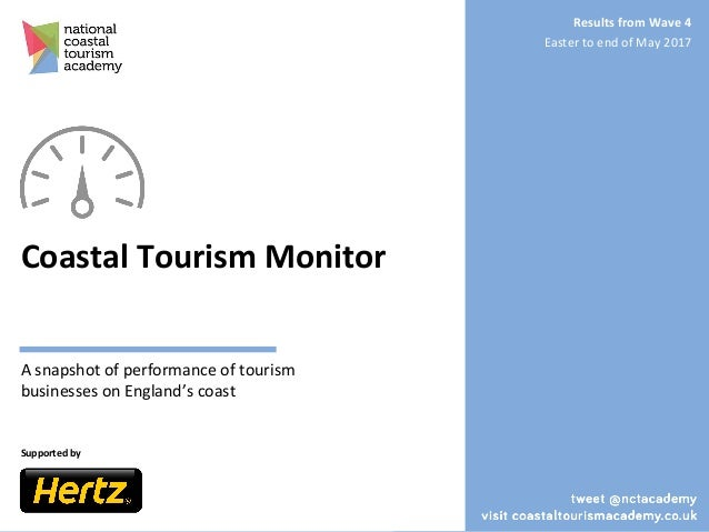 Coastal Tourism Monitor A snapshot of performance of tourism businesses on England's coast Supported by 1 Results from Wav...