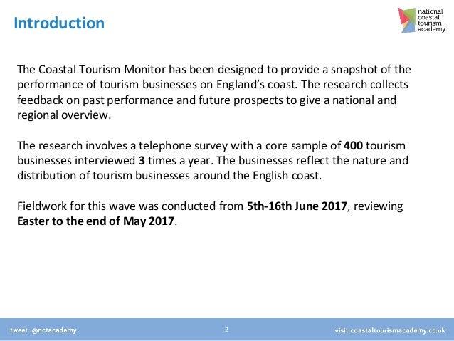 Coastal Tourism Monitor - Wave 4 Slide 2