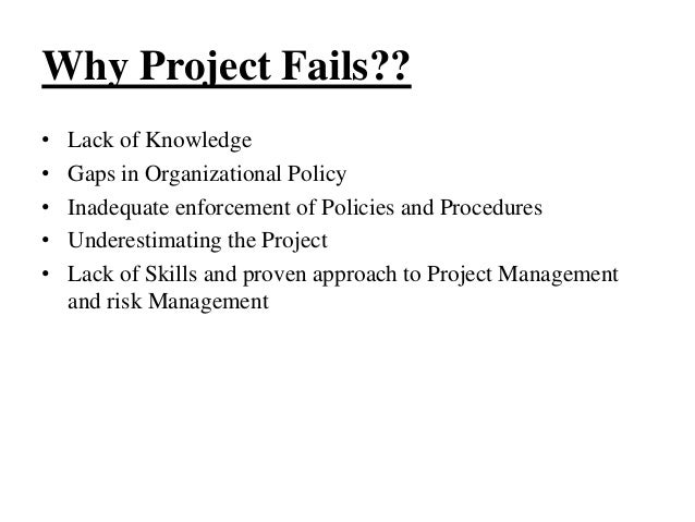 project failure essay Project failure essay custom student mr teacher eng 1001-04 7 november 2016 project failure i introduction projects are set up as functions within a bigger.