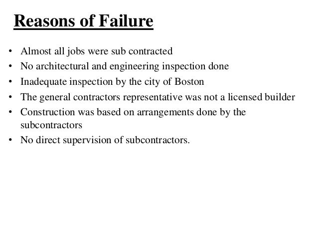construction project failure case study Project failure as a reoccurring issue in developing countries:  recurrent feature of construction  responsible for project failure in the case study.