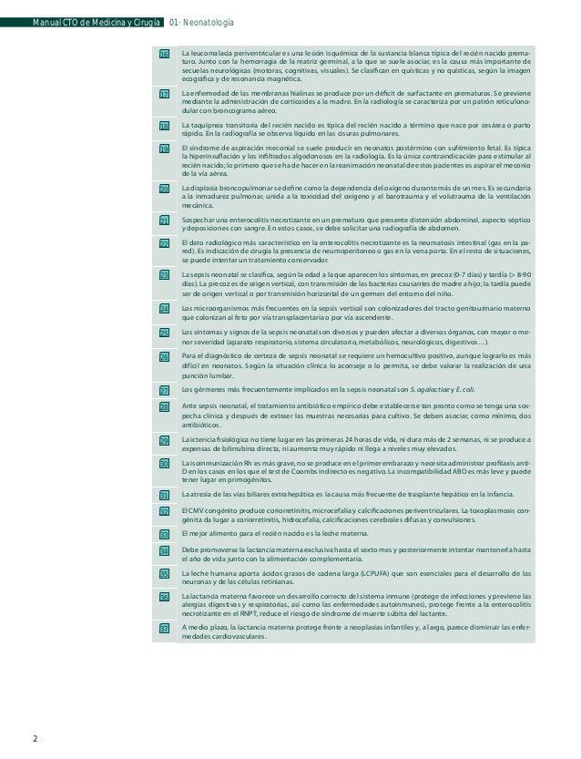 Manual CTO de Medicina y Cirugía  01 · Neonatología  Aparato genitourinario La capacidad de la vejiga neonatal es limitada...