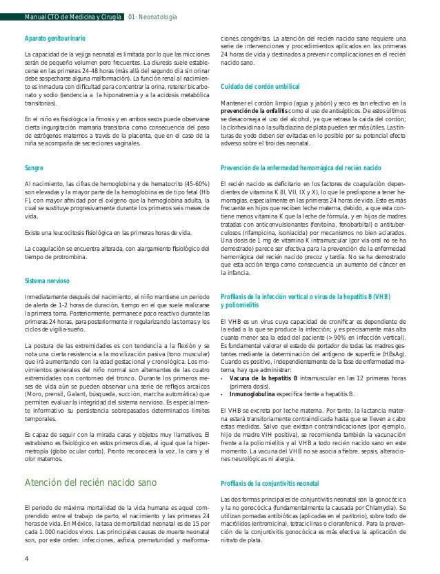 Manual CTO de Medicina y Cirugía  01 · Neonatología  Hemangioma Los hemangiomas son también lesiones vasculares prevalente...