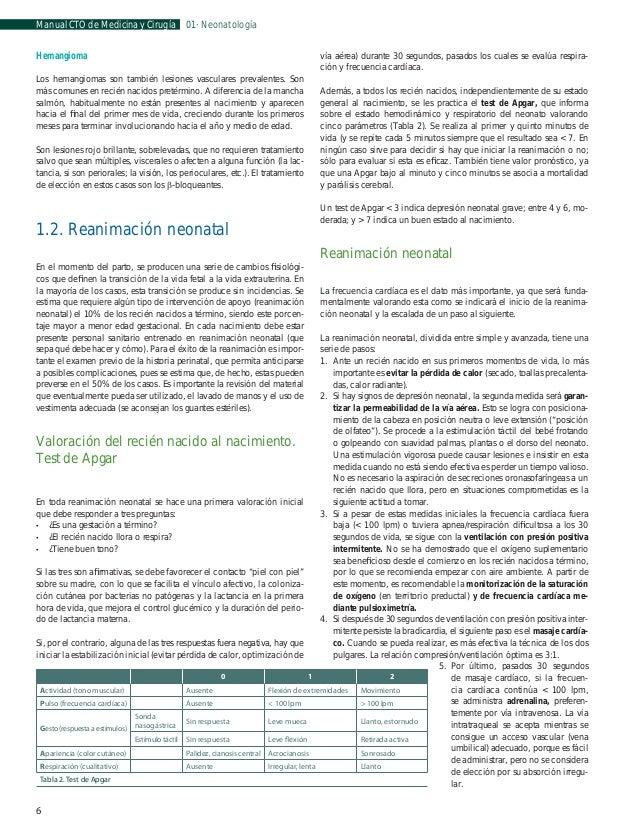 Manual CTO de Medicina y Cirugía  01 · Neonatología  la luz del conducto es permeable, se presenta en forma de ombligo húm...