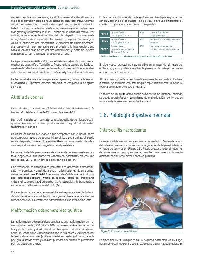 Manual CTO de Medicina y Cirugía  01 · Neonatología  1.7. Sepsis neonatal  •  Clasificación  Clínica  La sepsis neonatal se...