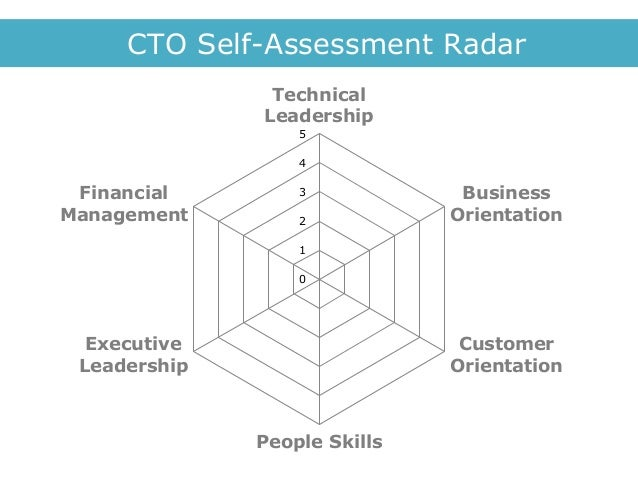 Cto SelfAssessment Radar