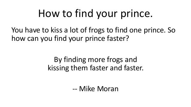 How To Find Someone To Kiss