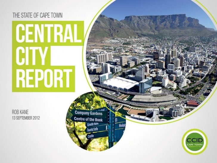 Launch of the State of Cape Town Central City Report_Rob_Kane
