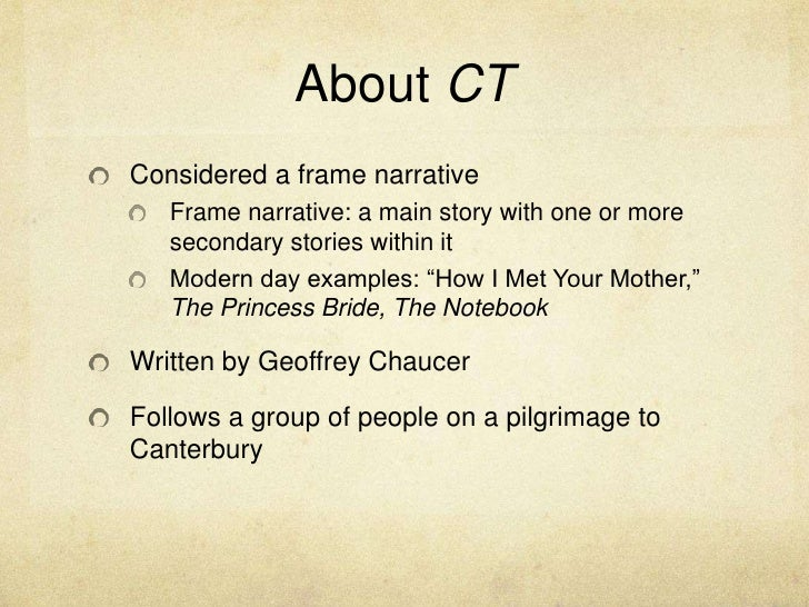 relationships in geoffrey chaucers frame story canterbury tales Is a policing model built around the assessment and management of risk intelligence relationships in geoffrey chaucers frame story canterbury tales officers.