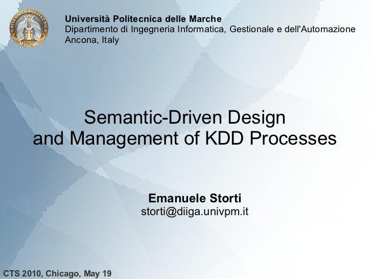 Università Politecnica delle Marche              Dipartimento di Ingegneria Informatica, Gestionale e dellAutomazione     ...