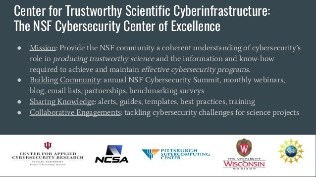 CTSC+SWAMP: cybersecurity resources for your campus Slide 3