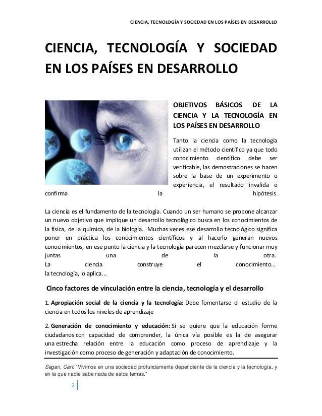 CIENCIA SOCIEDAD Y DESARROLLO DOWNLOAD