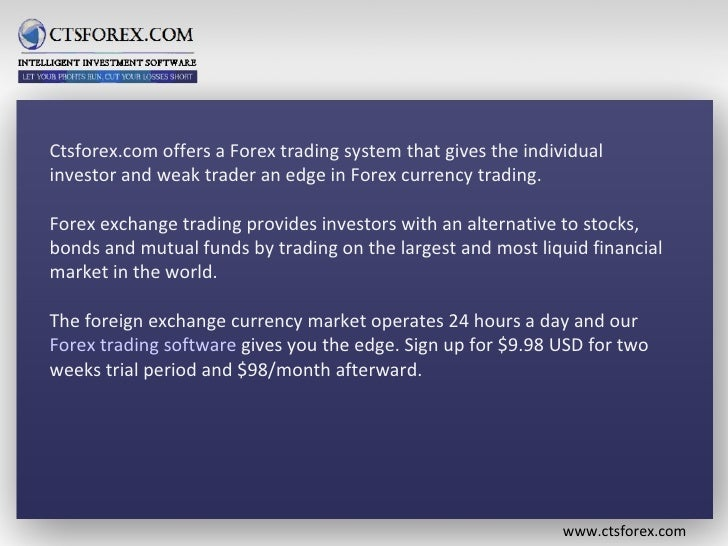 Ctsforex.com - Automoted Forex Trading System