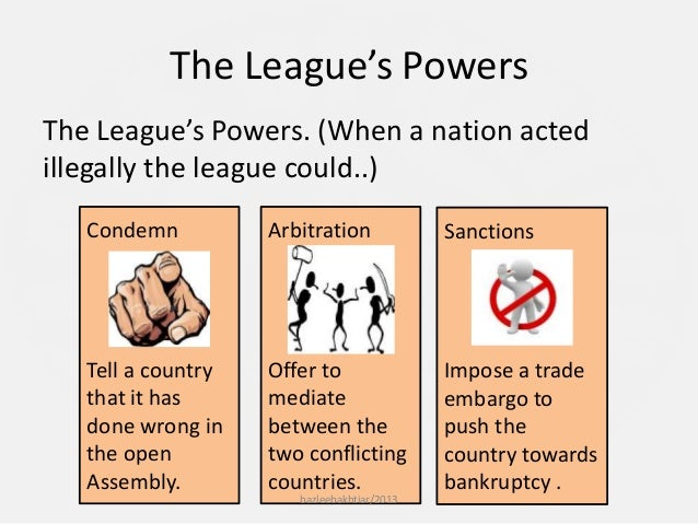 conclusion on succes and failures of league of nation The failures of the league of nations whether the league's success, or failure, dominated its historic record, it cannot be denied that in the quest for peace.