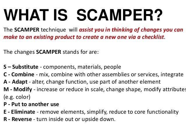 Scamper slide geeks.