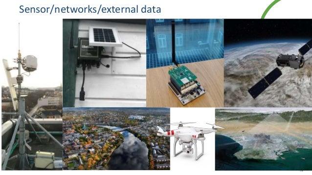 Sensor/networks/external data