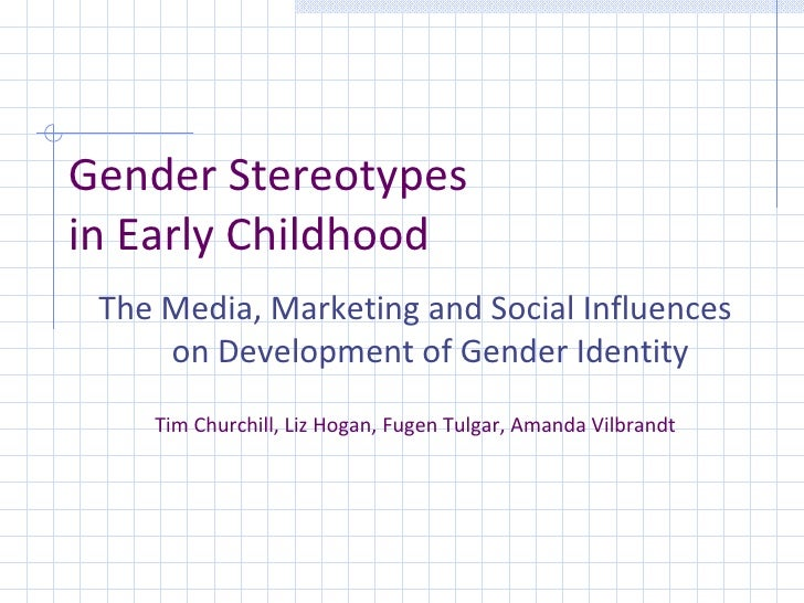 gender stereotypes begin in childhood essay