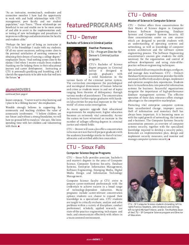 Colorado Technical University Alumni Newsletter - Spring 2010