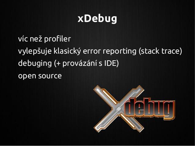 valgrind-format Jsou potřeba speciální programy na prohlížení záznamů WinCacheGrind – Windows github.com/jokkedk/webgrind ...