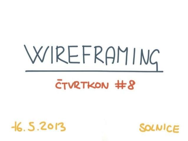 Wireframing - Co to je, k čemu je to dobré a jak ho dělat správně