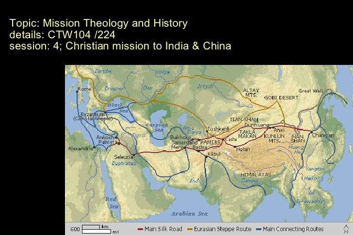Mission Theology and History Topic: Mission Theology and History details: CTW104 /224 session: 4; Christian mission to Ind...