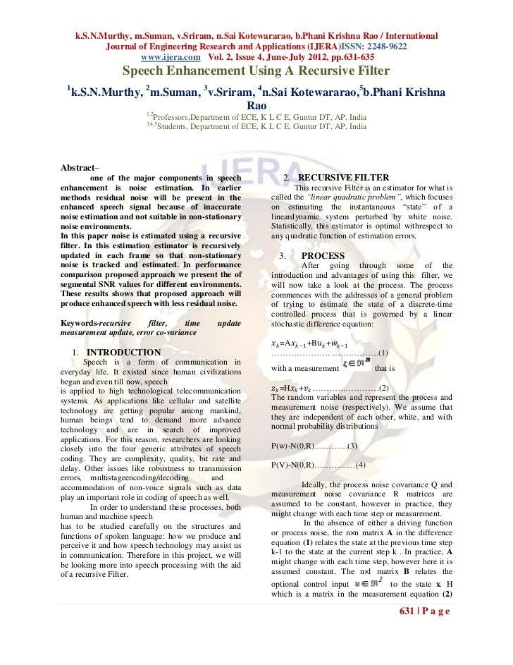 k.S.N.Murthy, m.Suman, v.Sriram, n.Sai Kotewararao, b.Phani Krishna Rao / International             Journal of Engineering...