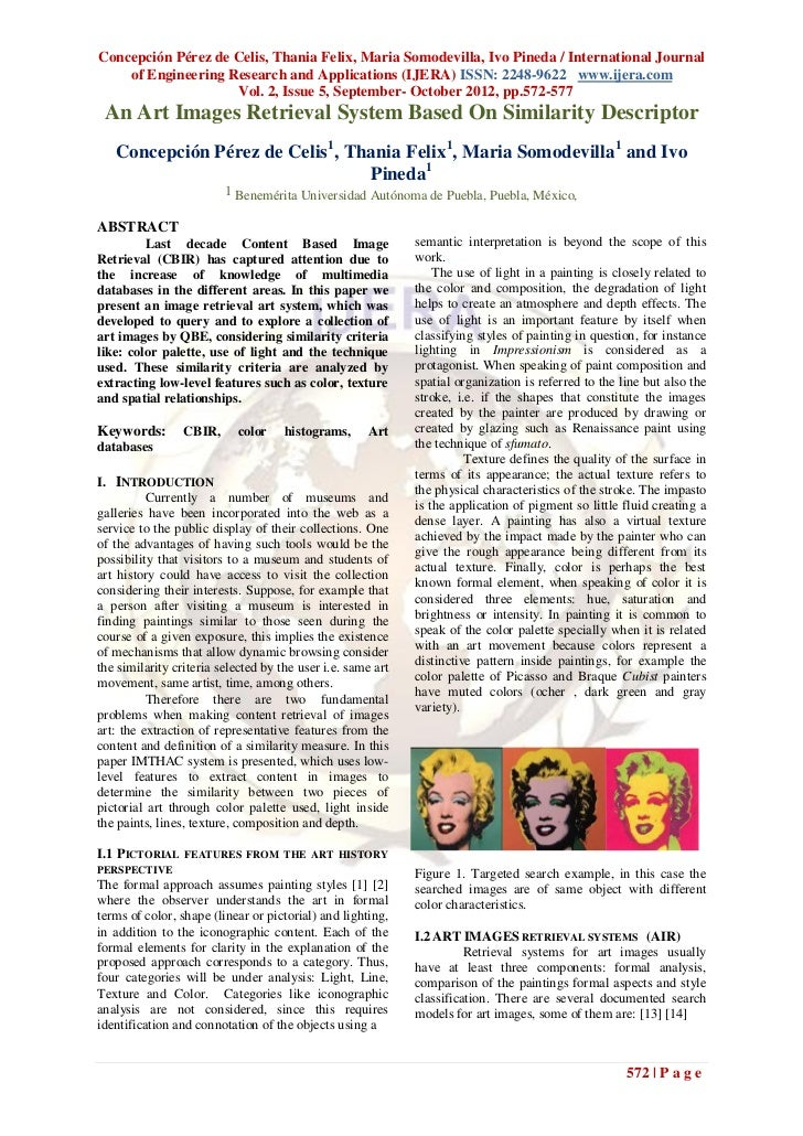 Concepción Pérez de Celis, Thania Felix, Maria Somodevilla, Ivo Pineda / International Journal    of Engineering Research ...