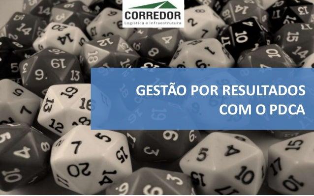 GESTÃO POR RESULTADOS COM O PDCA