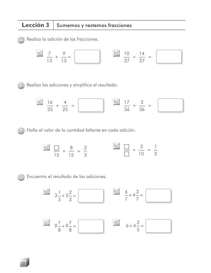 Cuadernillo de ejercicios matematicas 4°