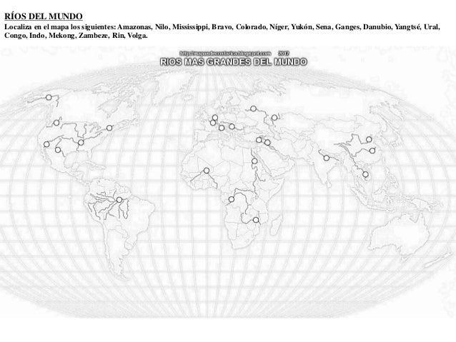 Cuadernillo de REPASO de Geografía Física 3º ESO.
