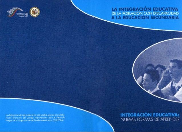 Cuadernillo integracion