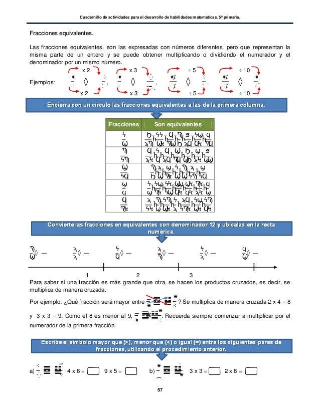 Cuadernillo matematicas 5 grad opdf