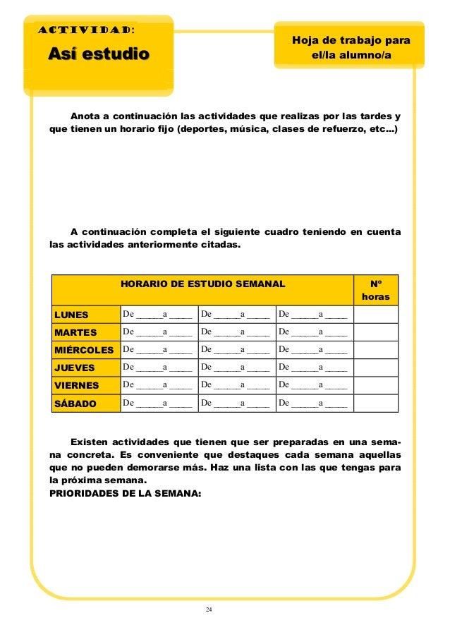 Vistoso Horarios De Hoja De Refuerzo Foto - hojas de trabajo básicos ...