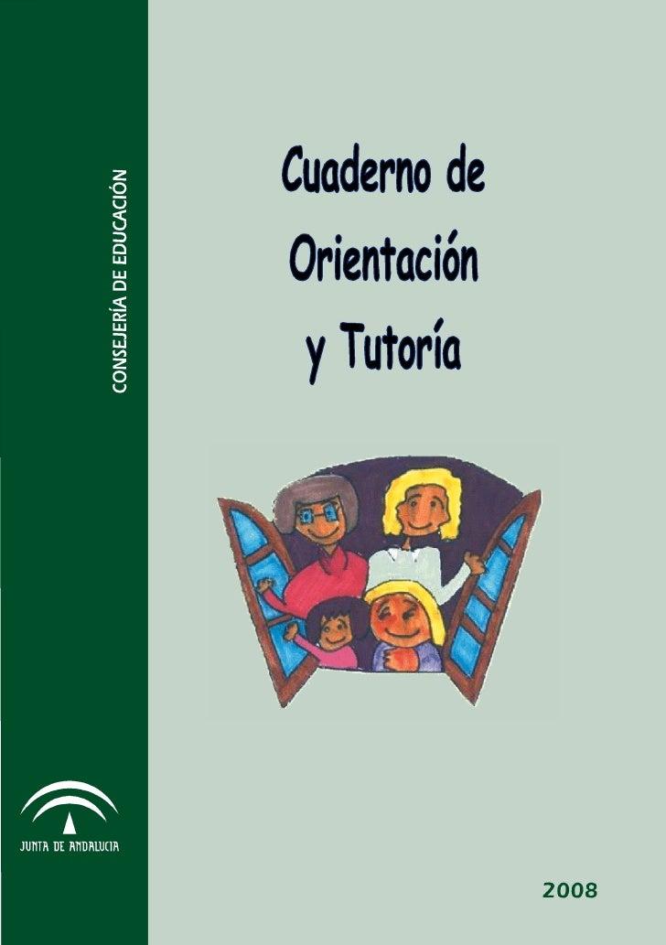 """CUADERNO DE                                     CEIP """" BLAS INFANTE """"   ORIENTACIÓN Y TUTORÍA                            F..."""
