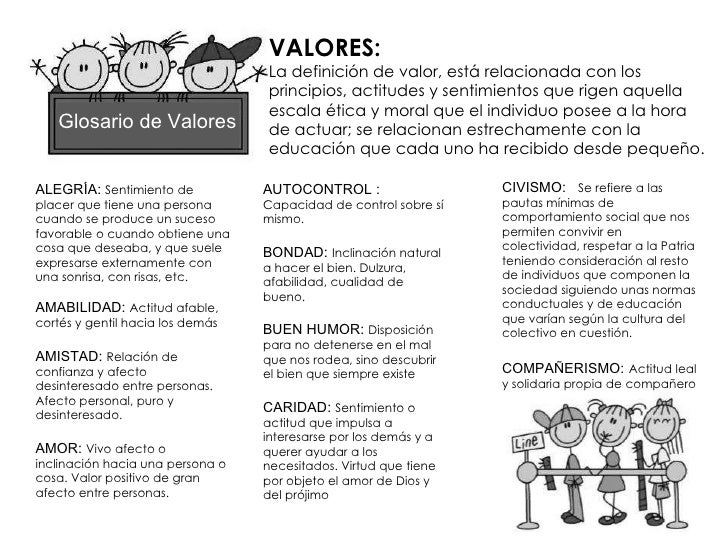 Cuaderno De Valores
